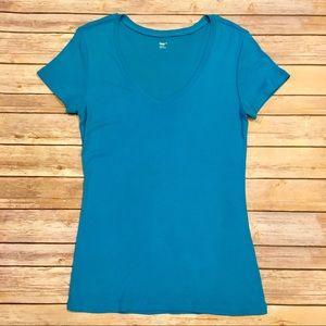GAP Tops - Gap Supersoft Blue T-Shirt, Size M